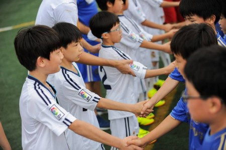Shaking Hands After Match